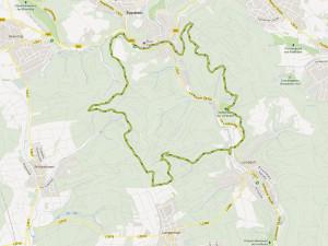 Eppstein - Bahai-Tempel  - Lorsbach - Kaisertempel - Eppstein (WPRM 005)