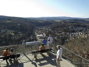 Blick vom Kaisertempel auf Eppstein © M. Joppich 2012
