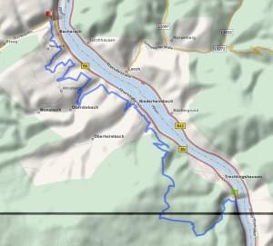 Rhein-Burgen-Weg Trechtingshausen - Bacharach
