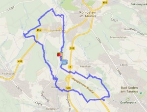 Bad Soden - Rote Mühle Rettershof - Kelkheim - Eberhards Scheuer - WPM 010