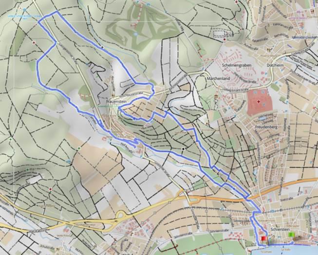 WPRM 014 Wiesbaden-Schierstein - Frauenstein Wandertrack