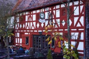 """Historisches Gasthaus """"Zum Adler"""" © M. Joppich 2014"""