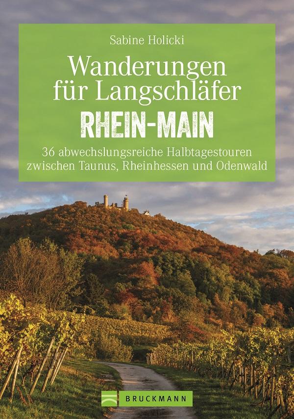 Titelbild Wanderführer Rhein-Main von Sabine Holicki